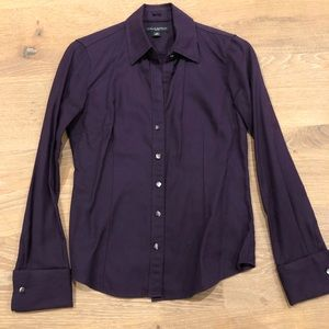 Banana Republic Purple Shirt
